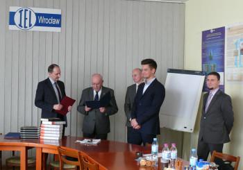 Uroczyste zebranie Polskiego Komitetu Materiałów Elektrotechnicznych Stowarzyszenia Elektryków Polskich.